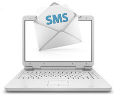 direct sms email